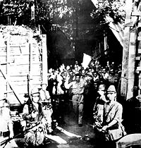 College Football Photos - Paul Bunker - Surrender of U.S. forces at Corregidor.