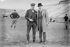 College Football Photos - Frank Hinkey - Frank Hinkey (left) and Tom Shevlin