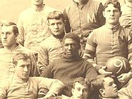 College Football Photos - George Jewett - George Jewett in 1890 Michigan team photograph