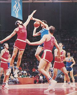 Basketball Photos - Kresimir Cosic - XX. Olympic games Munich 1972