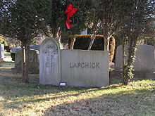 Basketball Photos - Joe Lapchick - The grave of Joe Lapchick in Oakland Cemetery (Yonkers