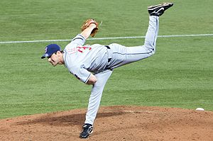 Baseball Photos - Cliff Lee - Cliff Lee pitching for the Cleveland Indians on April 18