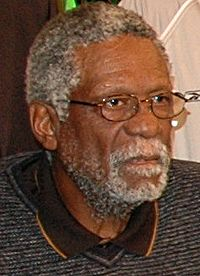 Basketball Photos - Bill Russell