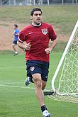 Soccer Photos - Claudio Reyna - Claudio Reyna during national team practice
