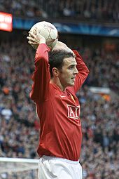Soccer Photos - John O'shea - John O'Shea playing in the 2008