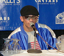 Boxing Photos - Arturo Gatti - Gatti at the post-fight press conference on June 7