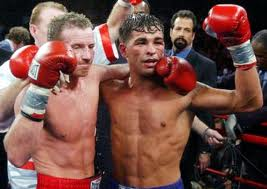 Boxing Photos - Micky Ward - Irish Micky Ward and Arturo Gatti