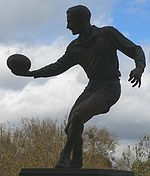 Sports Photos - Dick Reynolds - Dick Reynolds statue