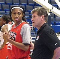 College Basketball Photos - Angel Mccoughtry