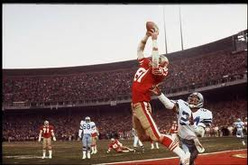 Football Photos - The Catch - The Catch refers to the winning touchdown reception by Dwight Clark off a Joe Montana pass in the January 10, 1982, NFC Championship Game between the Dallas Cowboys and the San Francisco 49ers. The Catch is widely regarded as one of the most memorable events in NFL
