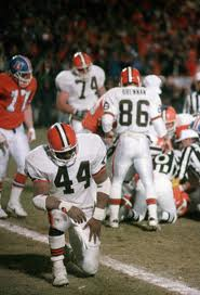 "Football Photos - The Fumble - Earnest Byner after ""The Fumble""."