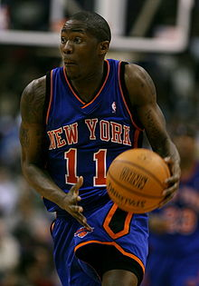 Basketball Photos - Jamal Crawford - Crawford with the Knicks