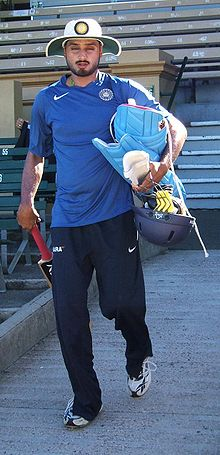 Sports Photos - Harbhajan Singh - Harbhajan Singh arrives at training.