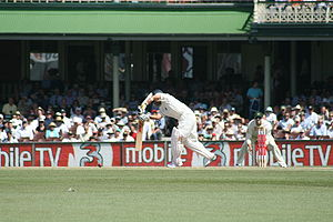 Sports Photos - Sachin Tendulkar - Tendulkar plays a wristy leg-side flick