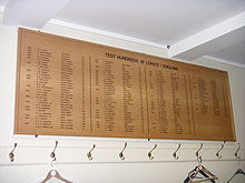 Sports Photos - Andrew Strauss - Strauss joined the Lord's honours board for scoring a century on his Test debut
