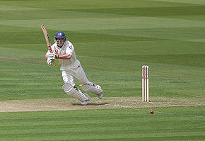 Sports Photos - Andrew Strauss - Strauss batting against Bangladesh at Lord's