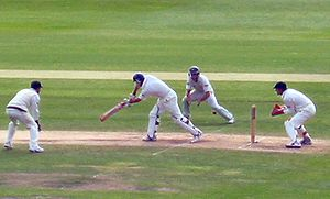 Sports Photos - Andrew Strauss - Strauss is caught by Michael Clarke chasing 129 to win the fourth Test