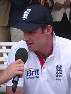 Sports Photos - Andrew Strauss
