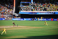 Sports Photos - Cricket - An Indian Premier League match in progress at Chepauk Stadium.