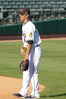 Baseball Photos - Sean Rodriguez - Rodriguez during his tenure with the Salt Lake Bees