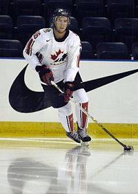 Hockey Photos - Simon Gagné - Gagné has represented Canada internationally on five different occasions.
