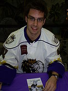Hockey Photos - Teddy Purcell - Purcell with the Manchester Monarchs in 2009
