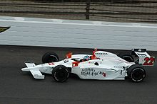 Motorsports Photos - Davey Hamilton - Hamilton practicing for the 2008 Indy 500
