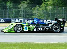 Motorsports Photos - Scott Sharp - Scott Sharp on track at the Acura Sports Car Challenge of Mid-Ohio in July 2008