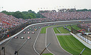 Motorsports Photos - Indianapolis 500 - The starting field of the 2007 Indianapolis 500 in formation before the start
