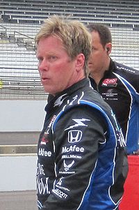 Motorsports Photos - Davey Hamilton - Hamilton at the Indianapolis Motor Speedway in May 2010.