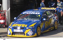 Motorsports Photos - Alex Davison - The Ford FG Falcon of Alex Davison at the 2010 Clipsal 500 Adelaide