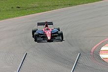 Motorsports Photos - Wade Cunningham - Cunningham driving his Indy Lights car on the Streets of St. Petersburg in 2005