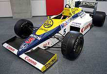 Motorsports Photos - Formula One - Nigel Mansell's Williams FW10 from 1985
