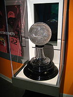 College Basketball Photos - NCAA March Madness - The NABC Championship Trophy