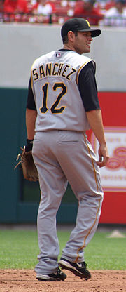 Baseball Photos - Freddy Sanchez - Sanchez in 2007.