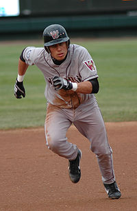 Baseball Photos - Asdrubal Cabrera - Cabrera in the minor leagues playing for the Wisconsin Timber Rattlers on May 16