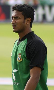 Sports Photos - Bangladesh Cricket Team - Shakib Al Hasan captained Bangladesh during their historic Test series win against West Indies in 2009.