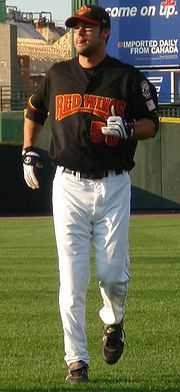 Baseball Photos - Garrett Jones - Jones during his tenure with the Rochester Red Wings