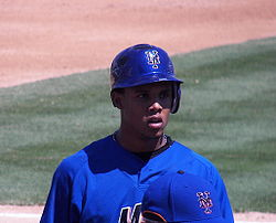 Baseball Photos - Carlos Gomez - Gómez with the Mets in 2007
