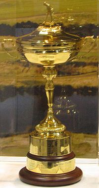 Golf Photos - Ryder Cup - The Ryder Cup on display in 2008.