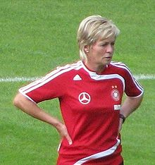 Soccer Photos - Germany Women's National Football Team - Current head coach Silvia Neid