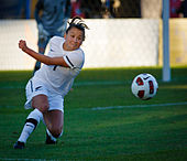 Soccer Photos - Ali Riley - Riley playing for New Zealand in May 2011