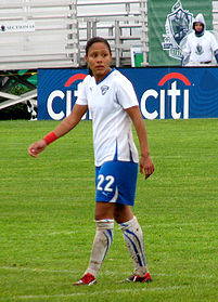 Soccer Photos - Alex Scott (Female Footballer) - Alex Scott playing for the Boston Breakers in WPS.