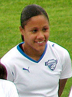 Soccer Photos - Alex Scott (Female Footballer)