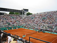 Tennis Photos - French Open - Suzanne Lenglen Court at Roland Garros.