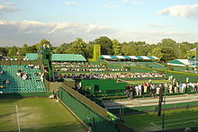 Tennis Photos - Wimbledon Championships - Evening on the first Friday of the 2004 championships