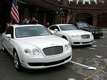 Motorsports Photos - Bentley - The Bentley line-up from late 2000s (from left): Flying Spur
