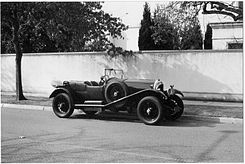 Motorsports Photos - Walter Owen Bentley - Open Touring Car . . . . Speed Model Chassis<br />