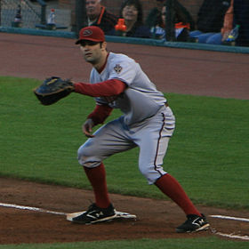 Baseball Photos - Conor Jackson - Jackson playing for the Arizona Diamondbacks in 2007.