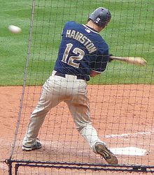 Baseball Photos - Scott Hairston - Hairston with the Padres in 2008.